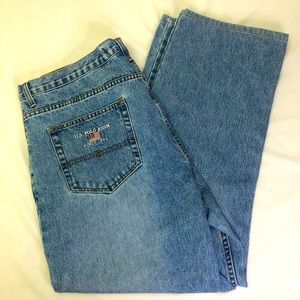 U.S. Polo Assn. Vintage Straight Jeans Embroidered
